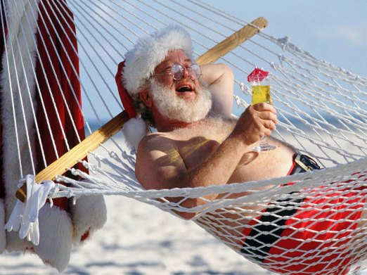 Santa_on_vacation